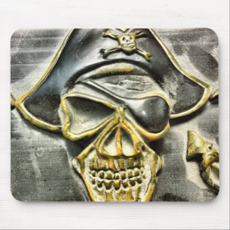 Jolly Roger Pirate Treasure Chest Mouse Pad
