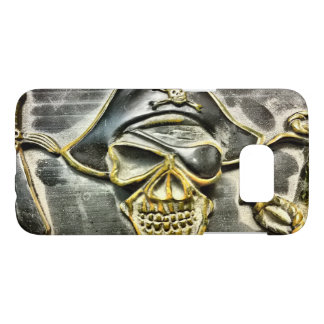 Jolly Roger Pirate Treasure Chest Samsung Galaxy S7 Case