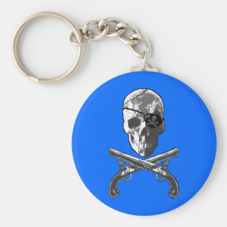 Jolly Roger Pistols Key Chains