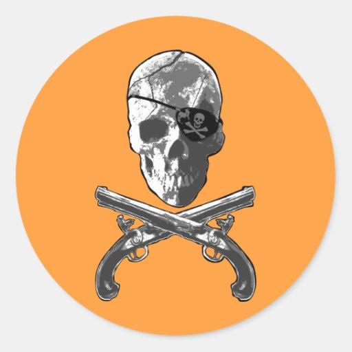 Jolly Roger Pistols Sticker