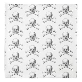 Jolly Roger Queen Duvet Cover