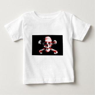 Jolly Roger Skull Crossbones Skull And Crossbones Baby T-Shirt