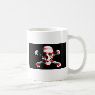 Jolly Roger Skull Crossbones Skull And Crossbones Coffee Mug