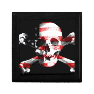 Jolly Roger Skull Crossbones Skull And Crossbones Gift Box
