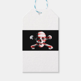 Jolly Roger Skull Crossbones Skull And Crossbones Gift Tags