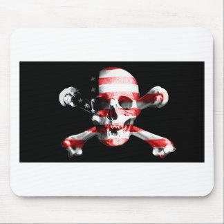 Jolly Roger Skull Crossbones Skull And Crossbones Mouse Pad