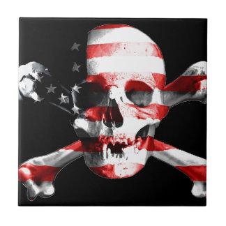 Jolly Roger Skull Crossbones Skull And Crossbones Tile