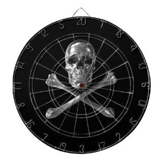 Jolly Roger Skull Dart Board