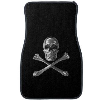 Jolly Roger Skull Front Car Mat