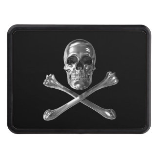 Jolly Roger Skull Hitch Cover