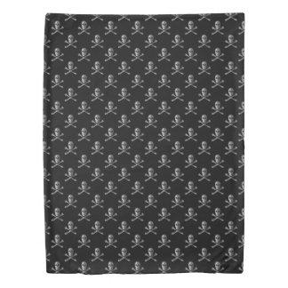 Jolly Roger Skull Pattern (2 sides) Duvet Cover