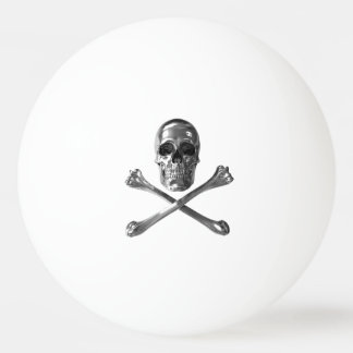 Jolly Roger Skull Ping Pong Ball