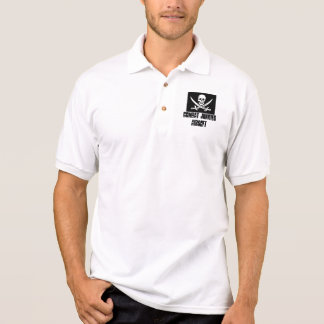 jolly-roger-skull-sword, COMBAT JUNKIES AIRSOFT Polo Shirt