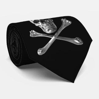 Jolly Roger Skull Tie