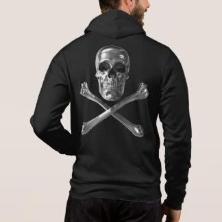 Jolly Roger Skull Zip Hoodie