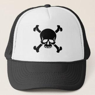 jolly-roger-tattoo trucker hat
