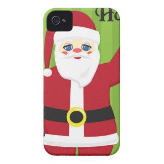 Jolly Santa Claus iPhone 4 Case-Mate Case
