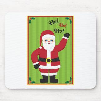Jolly Santa Claus Mouse Pad