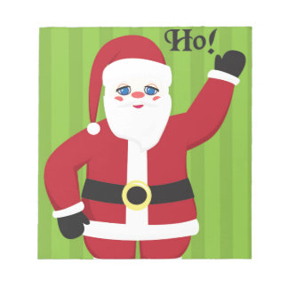 Jolly Santa Claus Notepad