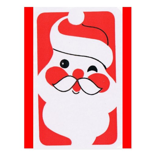 Jolly Santa Claus Postcard