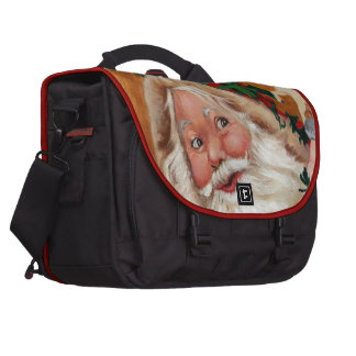 Jolly Santa Commuter Bags