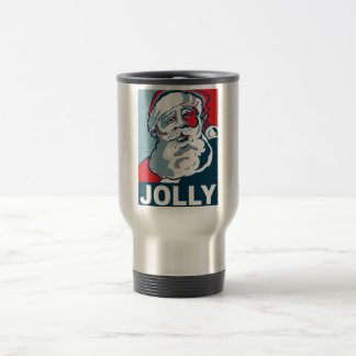Jolly Santa Travel Mug