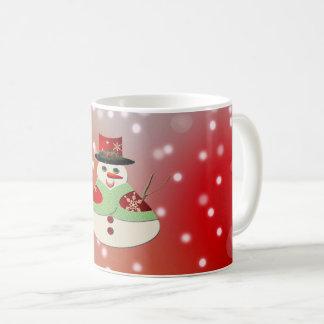 Jolly Snowman Snowy Dreams Coffee Mug