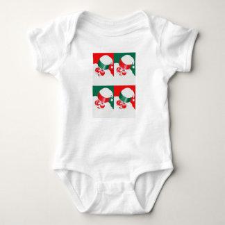 Jolly St Nick - Quad Baby Bodysuit