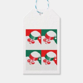 Jolly St Nick - Quad Gift Tags