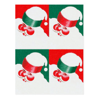 Jolly St Nick - Quad Postcard