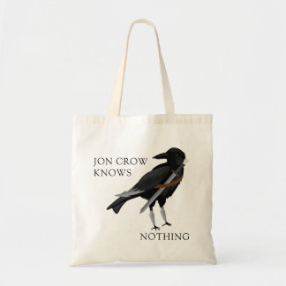 Jon Crow Knows Nothing Tote Bag