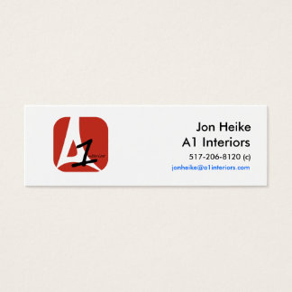 Jon Heike Mini Business Card