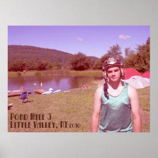 Jon Holtz Pond Mile 3 Poster