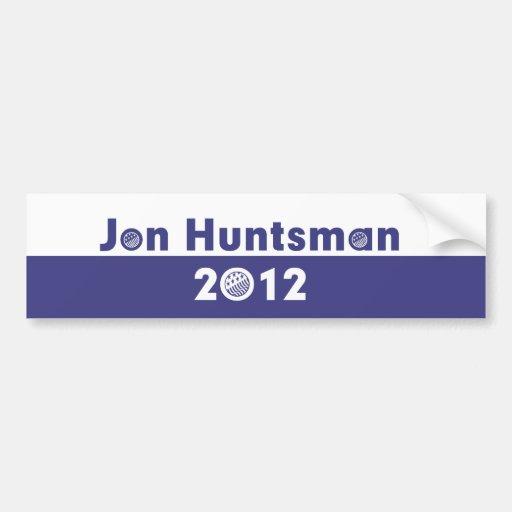 Jon Huntsman 2012 Election Bumper Stickers