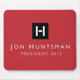 Jon Huntsman 2012 President Mousepad