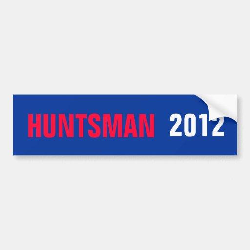 JON HUNTSMAN 2012 STICKER BUMPER STICKERS