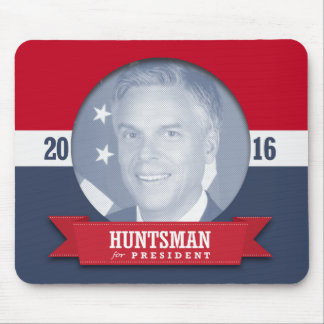 JON HUNTSMAN 2016 MOUSE PAD