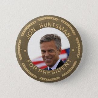 Jon Huntsman for President 2 Inch Round Button