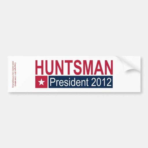Jon Huntsman President 2012 Bumper Stickers