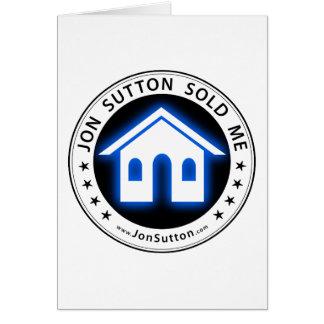 Jon Sutton m'a vendu Carte De Vœux