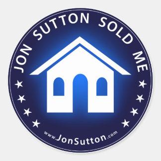 Jon Sutton m'a vendu Sticker Rond