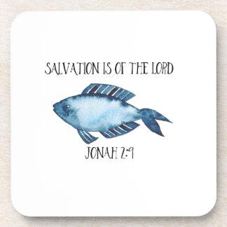 Jonah 2:9 drink coasters