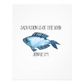 Jonah 2:9 letterhead