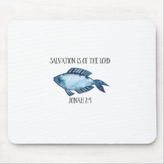 Jonah 2:9 mouse pad