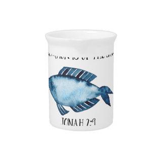 Jonah 2:9 pitcher