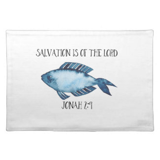 Jonah 2:9 placemat