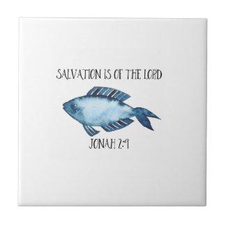 Jonah 2:9 tile