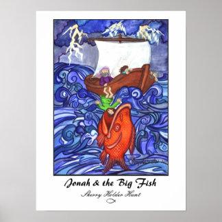 Jonah & the Big Fish Print-Customized Poster