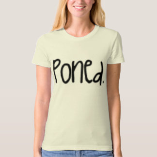 "Jonas Brothers ""Poned."" shirt"