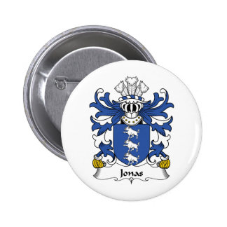 Jonas Family Crest 2 Inch Round Button